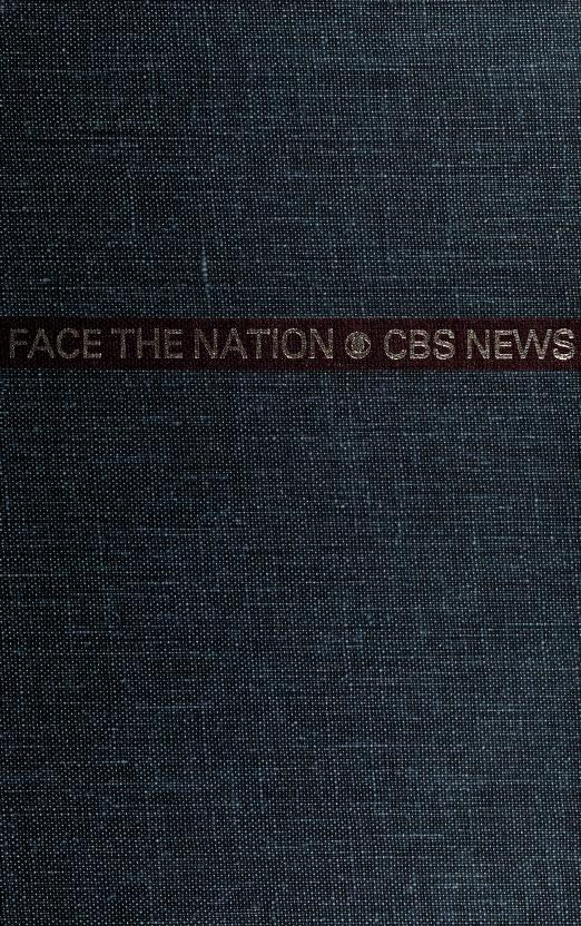 Face the nation by CBS Television Network