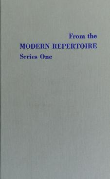 Cover of: From the Modern Repertoire Series One | Bentley                      E