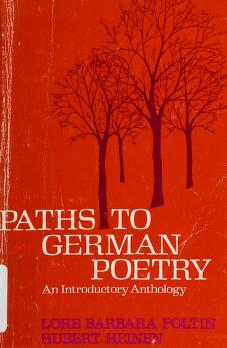 Cover of: DM Paths to German Poetry PB |