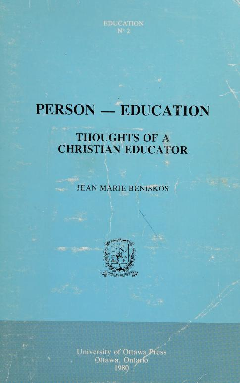 Person-- education by Jean Marie Beniskos