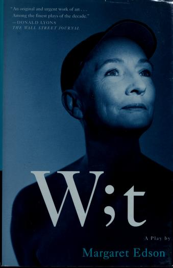Cover of: Wit  | Margaret Edson