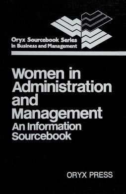 Cover of: Women in administration and management | Judith A. Leavitt